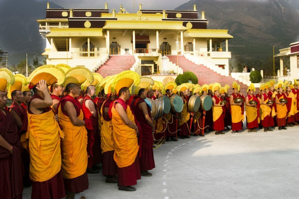 Gyuto Monks of Tibet in Dharamsala India